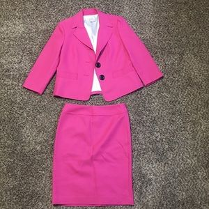 Kasper Women's Blazer and Skirt Suit Set